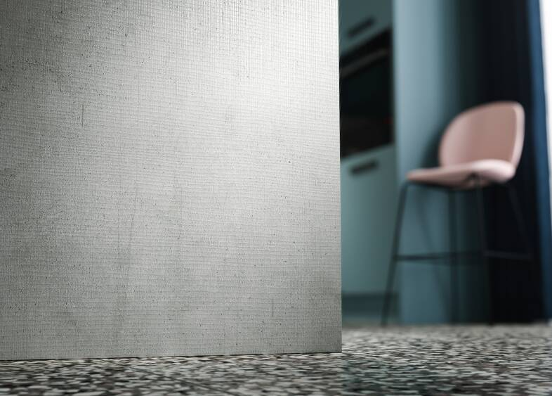 Autograph Elements Kitchen in Concrete Oak Matt