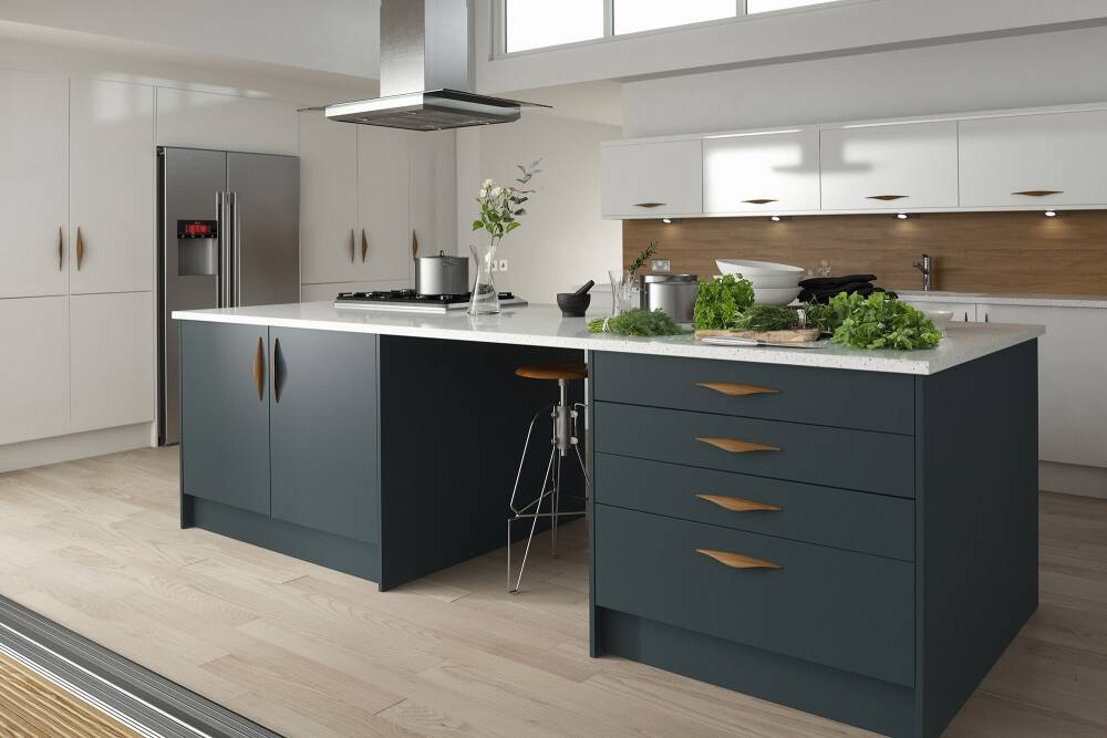 Contour Baltic Matt Wren Kitchens