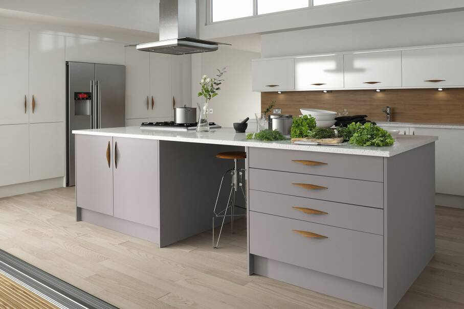 Contour Damson Matt Kitchen