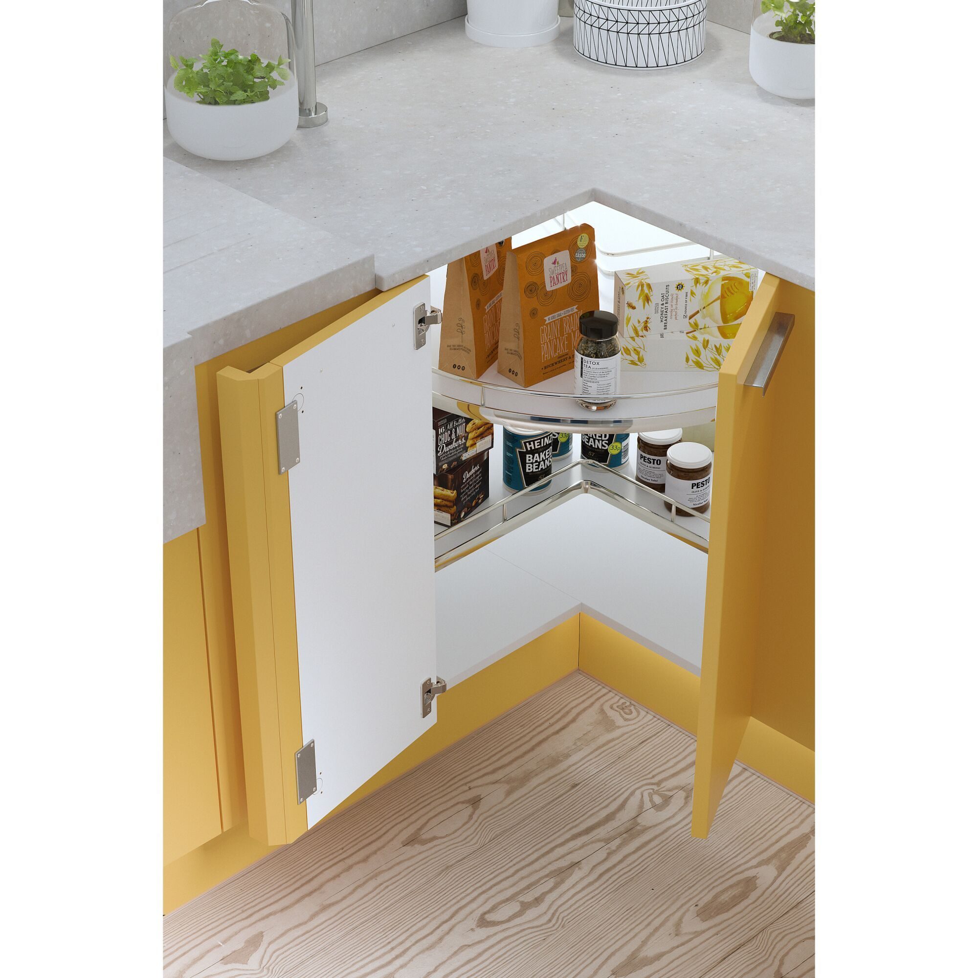 Contour Kitchen in Bumblebee Matt