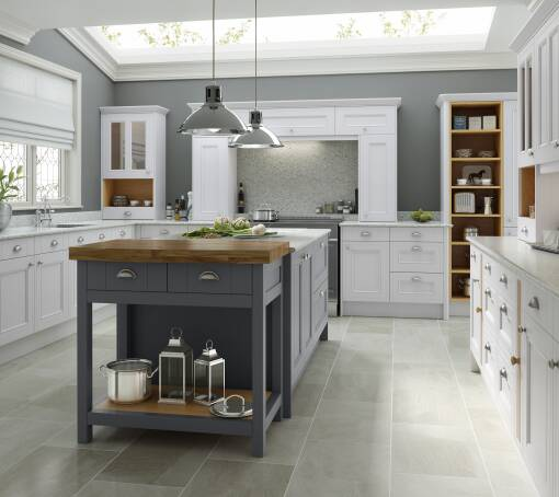 Country Chalk White Matt kitchen