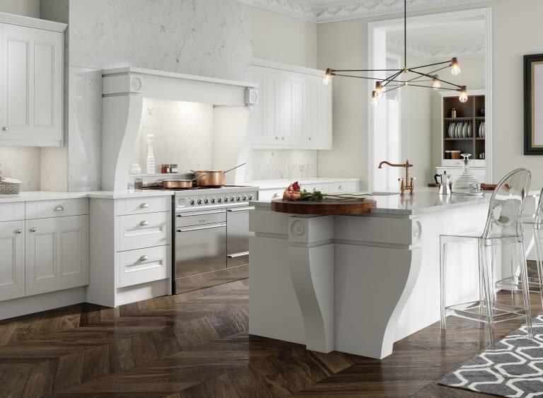 Country Kitchen In Super White Wren Kitchens