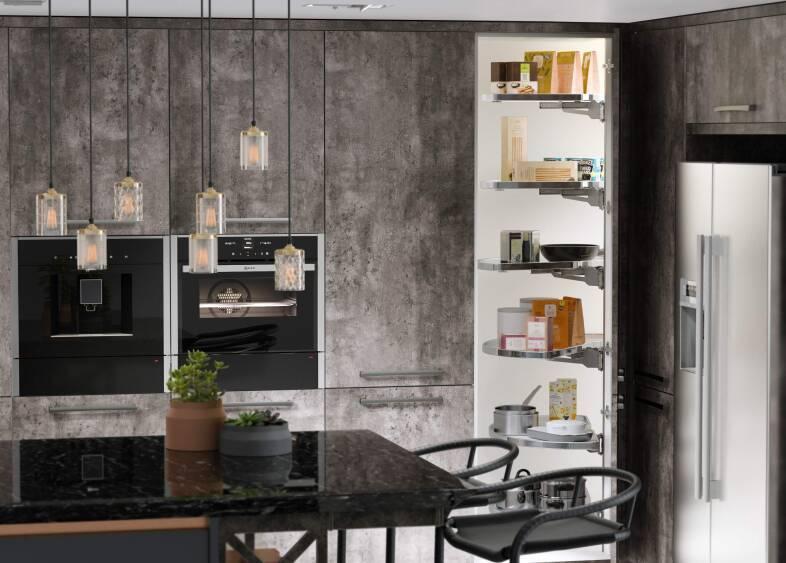 Milano Contour Kitchen in Castle Rock