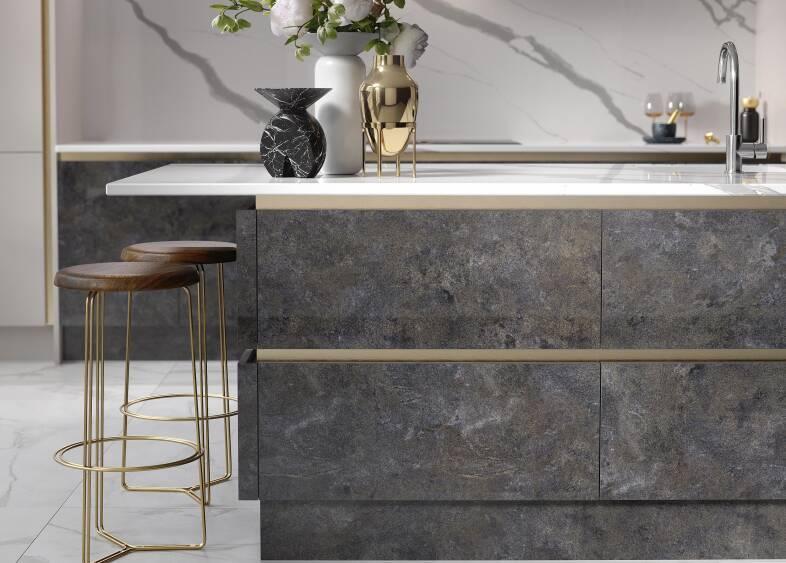 Milano Elements Kitchen in Metallic Night