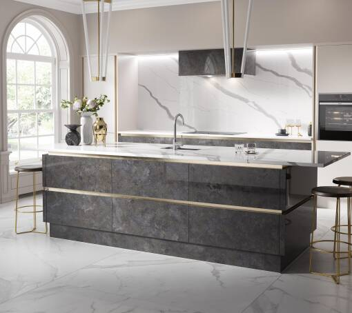 Milano Elements Metallic Night Gloss kitchen