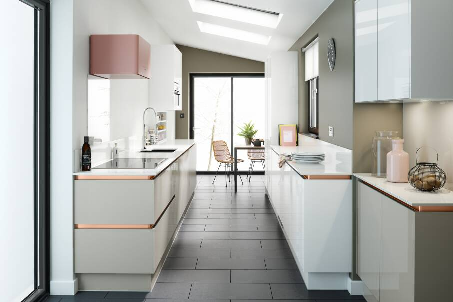 Milano Pacrylic Cashmere Gloss Kitchen