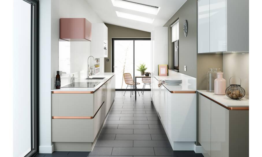 Milano Pacrylic Cashmere Gloss Kitchen