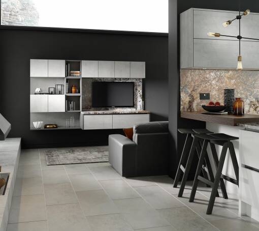 Milano Ultra Bianco Satin kitchen
