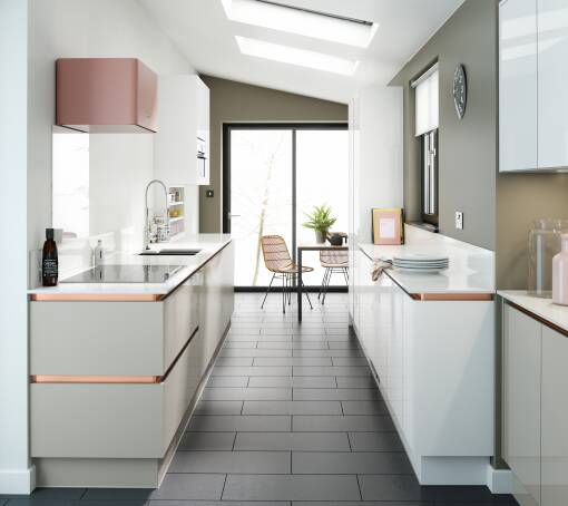 Milano Ultra Camel Gloss kitchen
