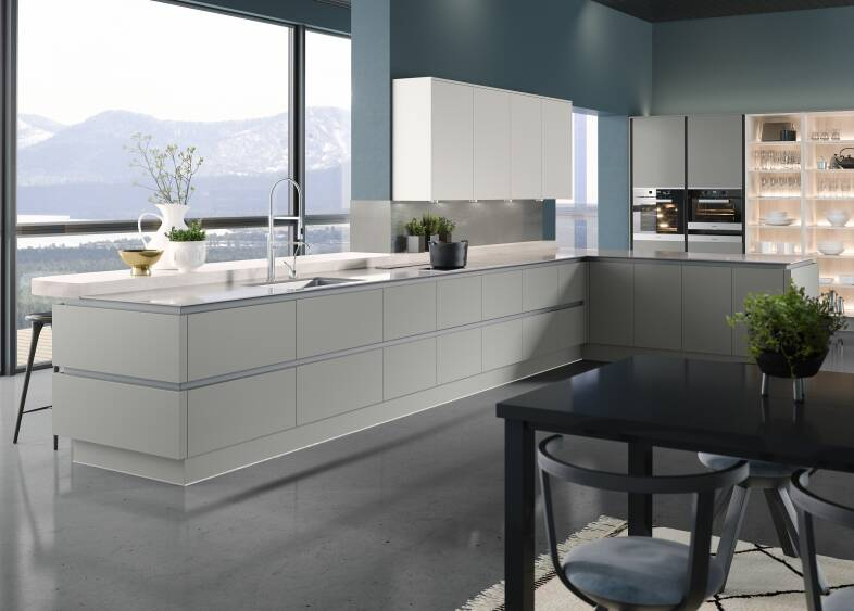 Milano Ultra Kitchen in Dove