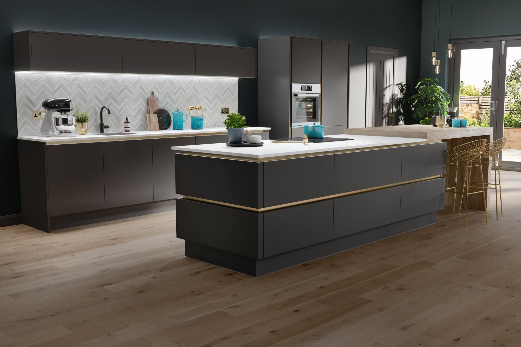 Milano Ultra Kitchen In Pencil