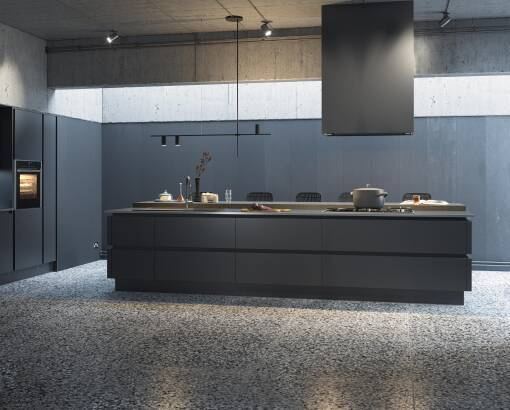 Milano Ultra Pencil Satin kitchen