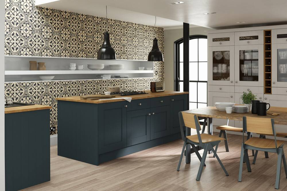 Blue Kitchens Blue Kitchen Units Doors Wren Kitchens