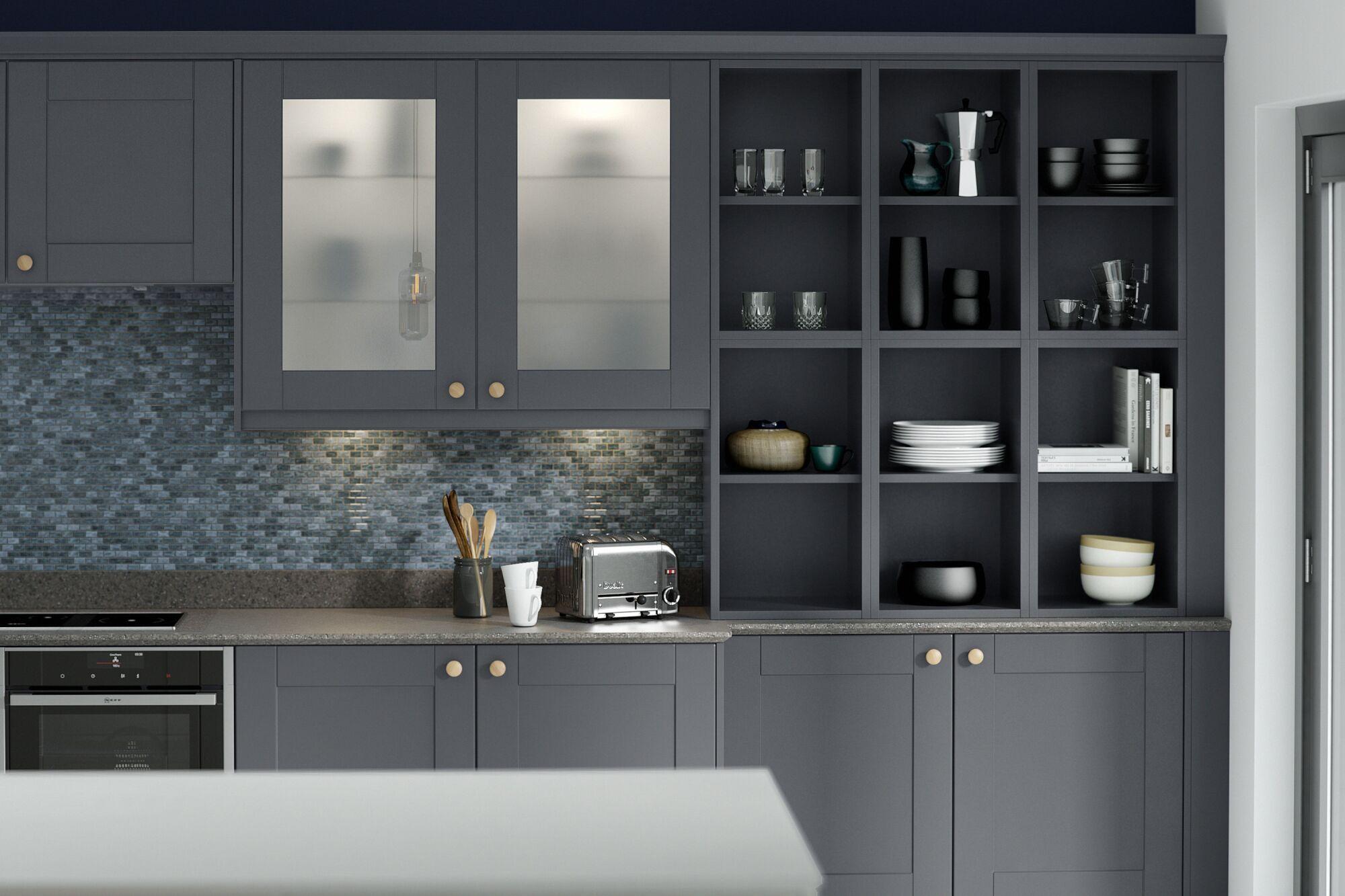 Pebble Grey Wren Kitchens