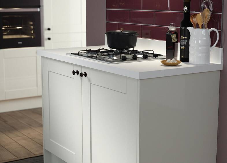 Shaker Kitchen in Cream Gloss