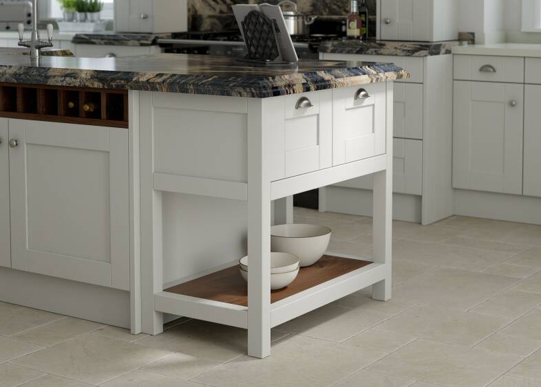 Shaker Kitchen in Parchment