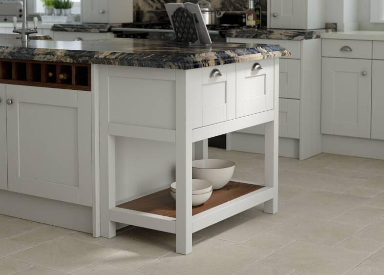 Shaker kitchen in parchment wren kitchens for Kitchen 0 finance b q