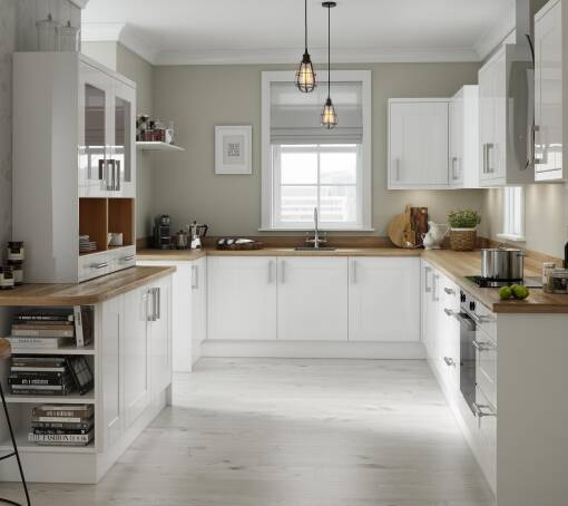 Shaker style kitchens wren kitchens for Shaker style kitchen units