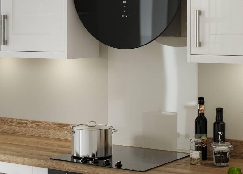 Shaker White Gloss Kitchen