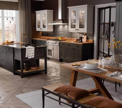 Shaker (White) Raven Matt kitchen