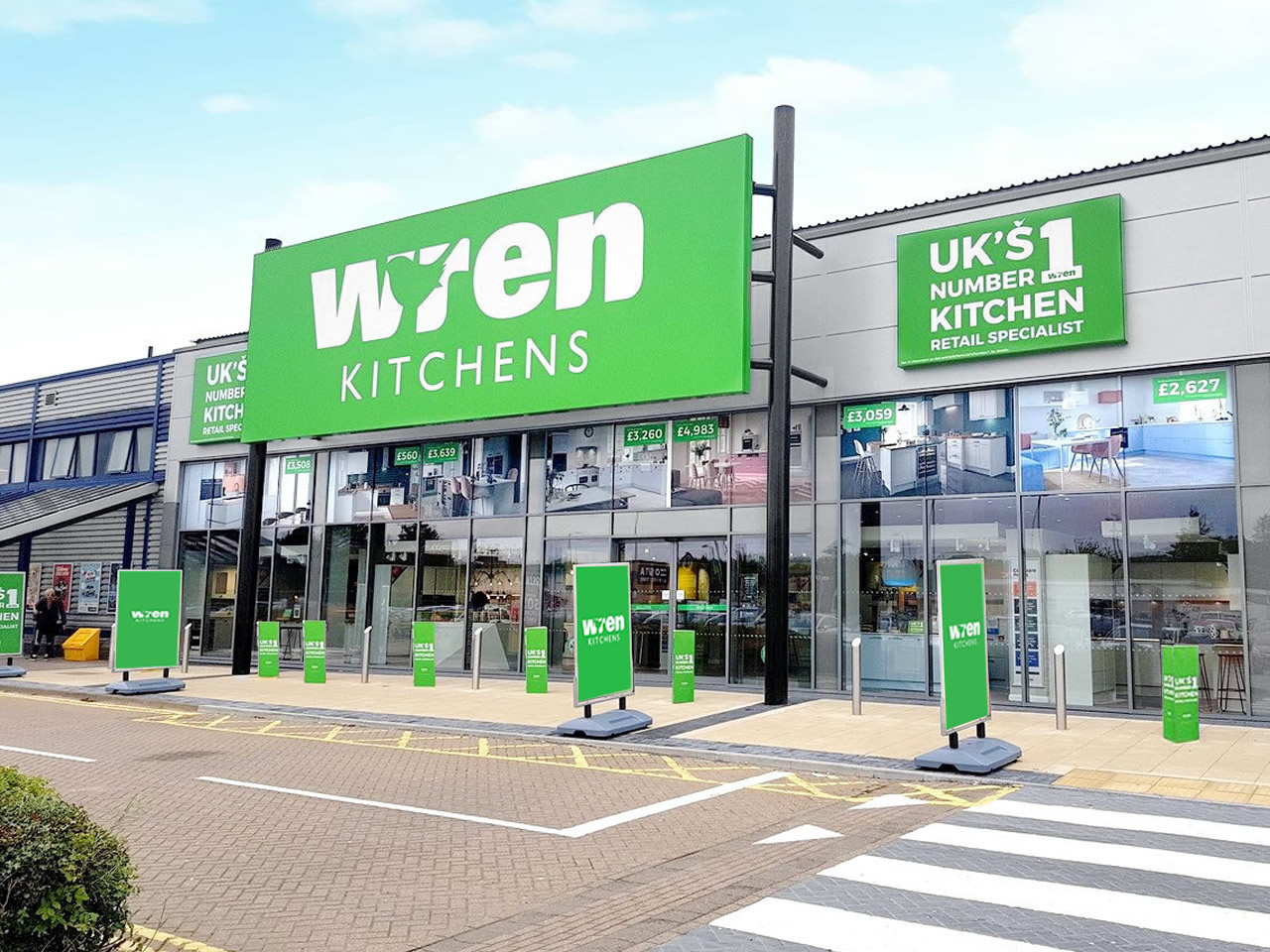 Wren Kitchens Derby Showroom