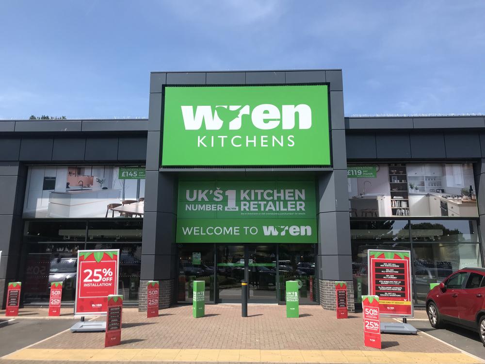 Wren Kitchens Exeter Showroom