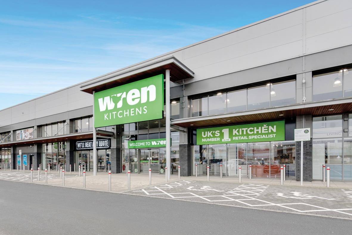 Wren Kitchens Paisley Showroom