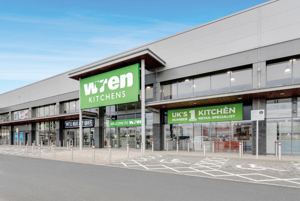 Wren Kitchens Paisley Showroom