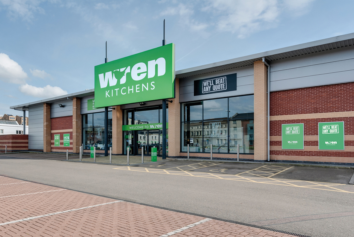 Wren Kitchens Sheffield Showroom