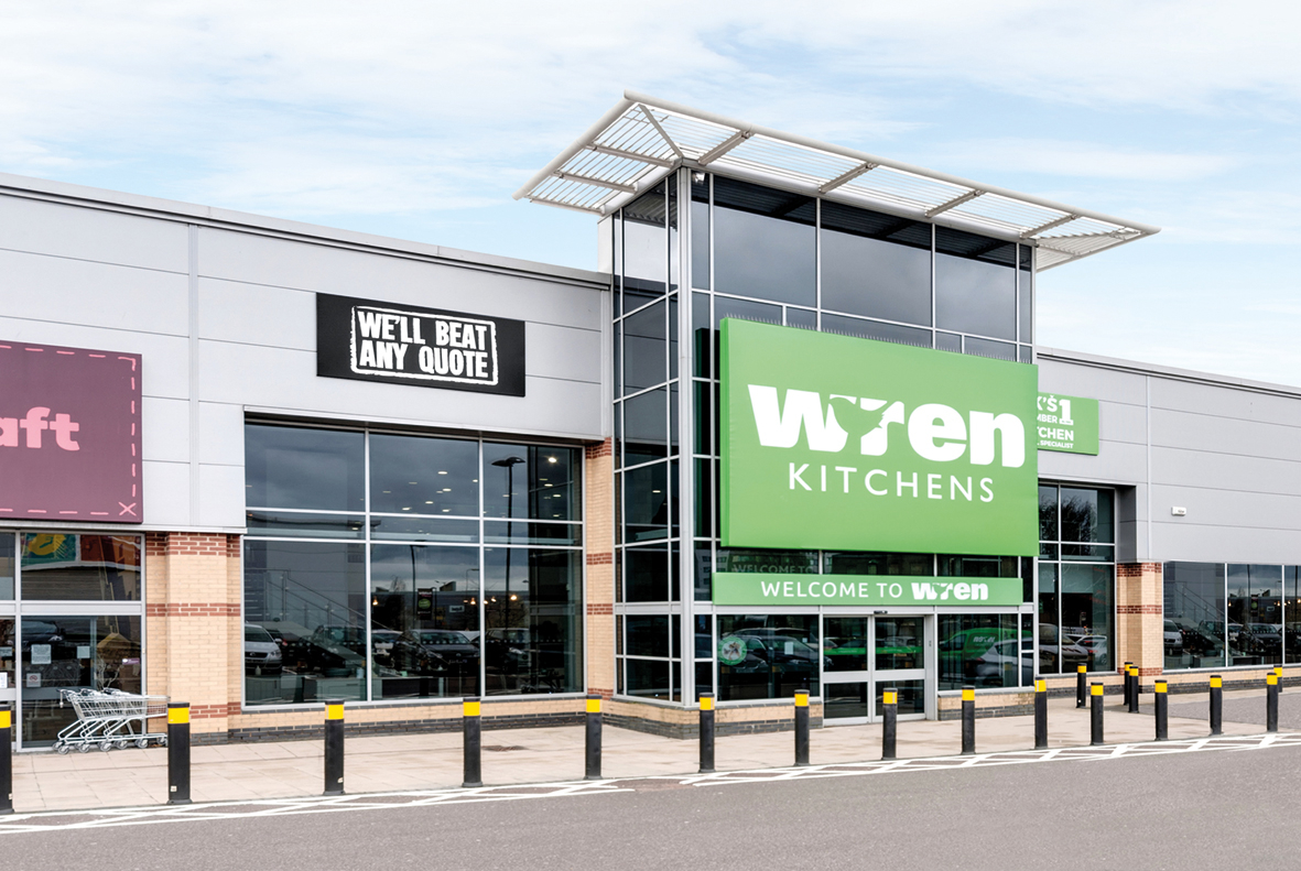 Wren Kitchens Staples Corner Showroom