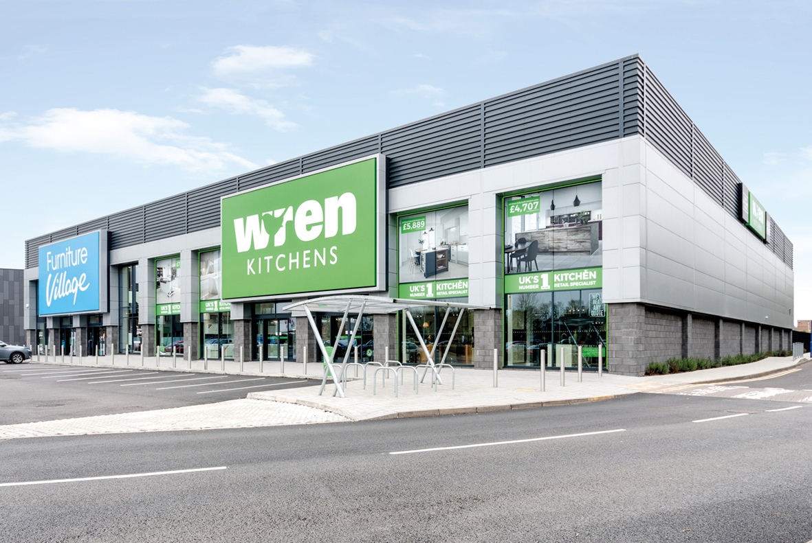 Wren Kitchens Stevenage Showroom