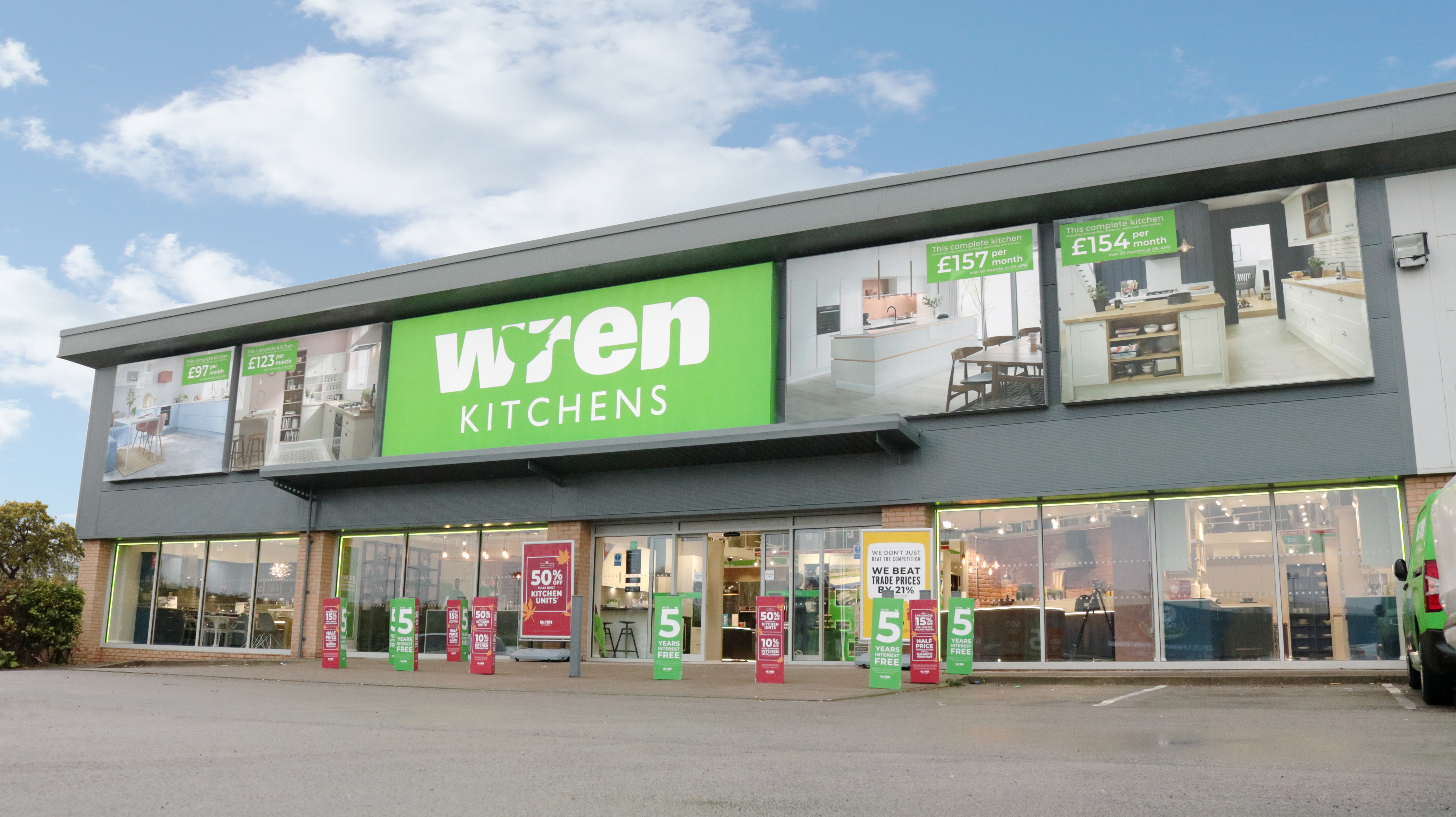 Wren Kitchens Stockton Showroom