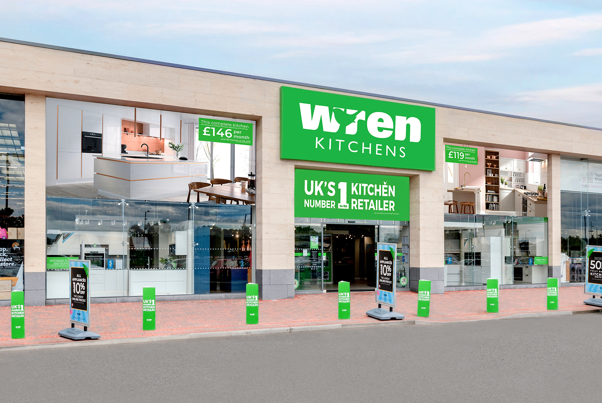 Wren Kitchens Tamworth Showroom