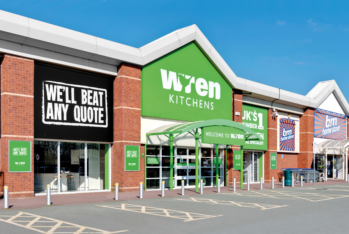 Wren Kitchens Warrington Showroom
