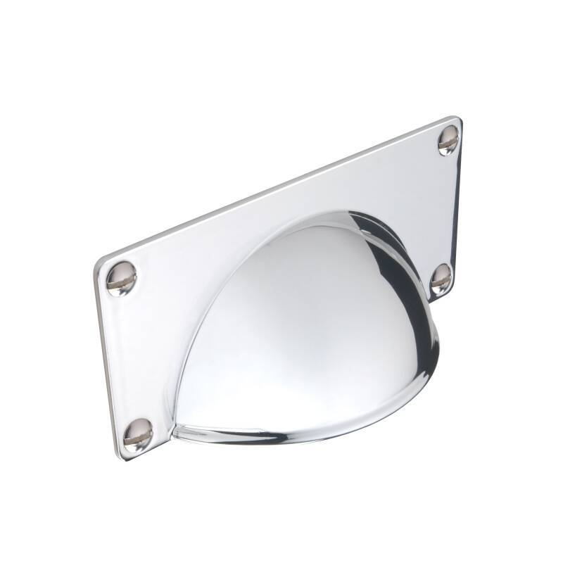 100x22mm Anna Chrome Cup Handle primary image