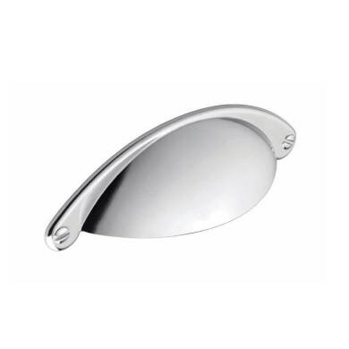 104x32mm Serenity Chrome Cup Handle