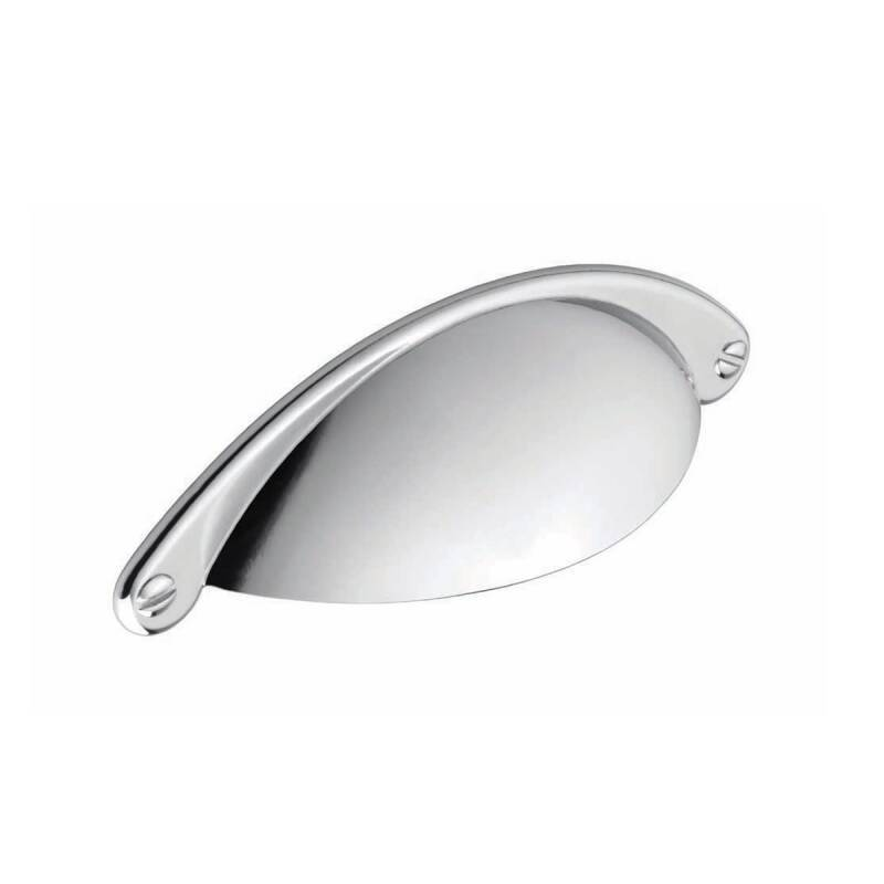 104x32mm Serenity Chrome Cup Handle primary image