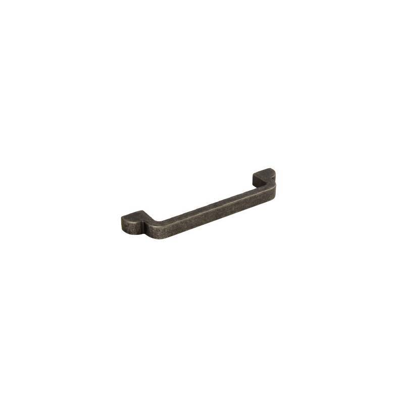 128mm x 148mm Harper Brass Pull Handle additional image 1