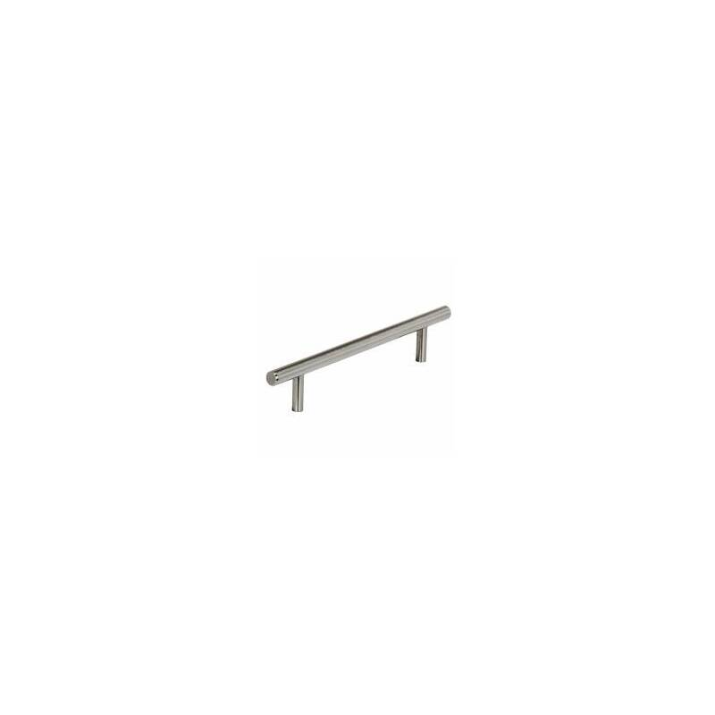128x168mm Emily Brushed Nickel Steel Bar Handle primary image