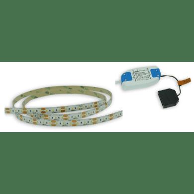 1M 4.8w LED Flexible Strip Light Inc Driver