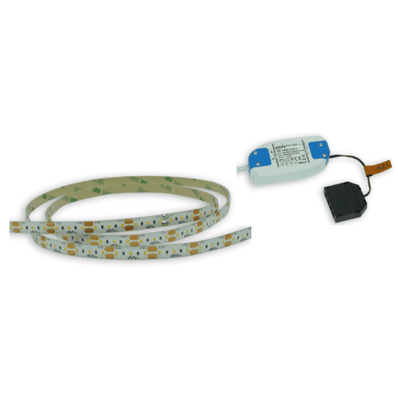 1M 4.8w LED Flexible Strip Light Inc Driver primary image