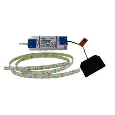 1M 4.8w LED Flexible Strip Light Inc Driver