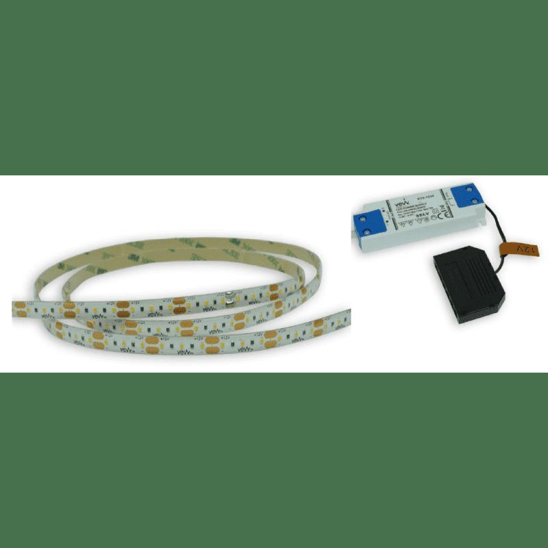 2M 4.8w LED Flexible Strip Light Inc Driver primary image