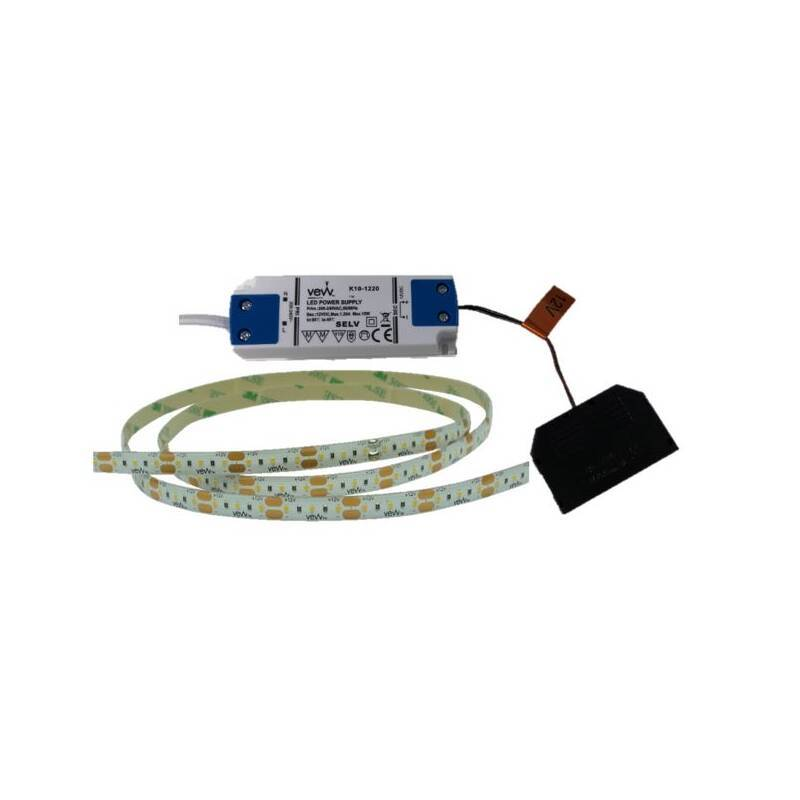 2M 4.8w LED Flexible Strip Light Inc Driver primary image