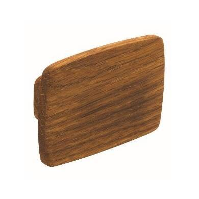 32mm x 74mm Elsie Oak lacquer Knob handle