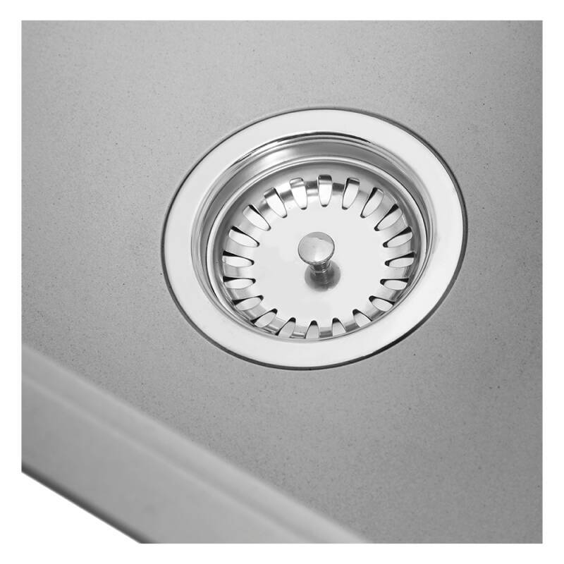356x500 Buttermere Composite 1.0  Bowl U/mount Grey additional image 2