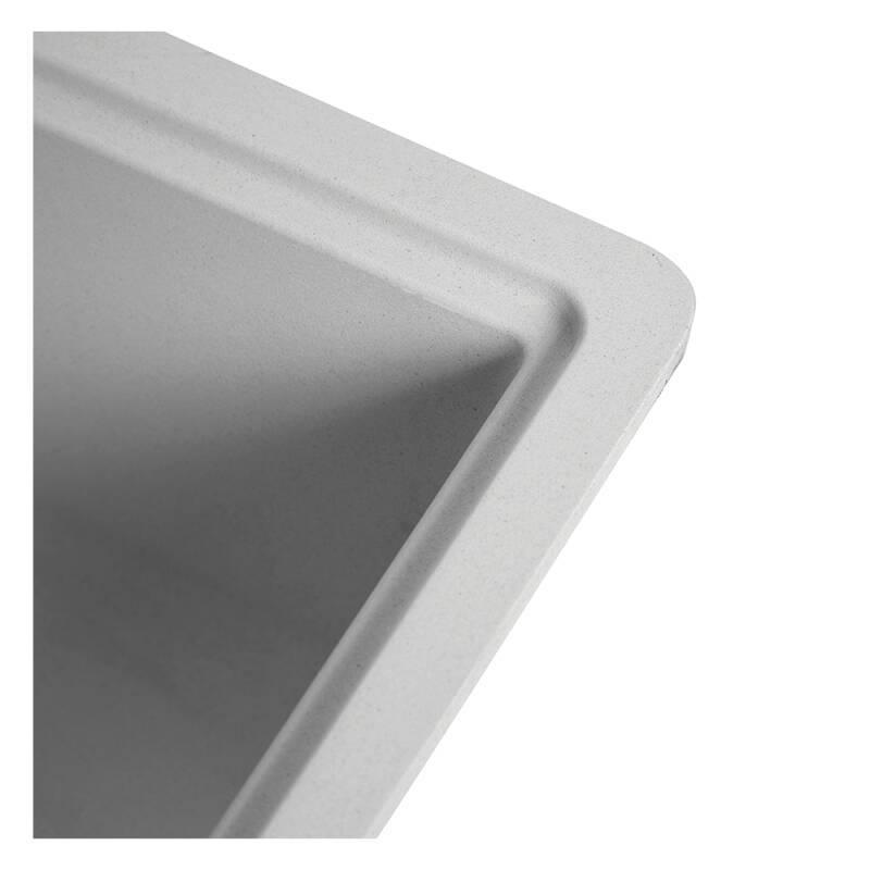 356x500 Buttermere Composite 1.0  Bowl U/mount Grey additional image 3
