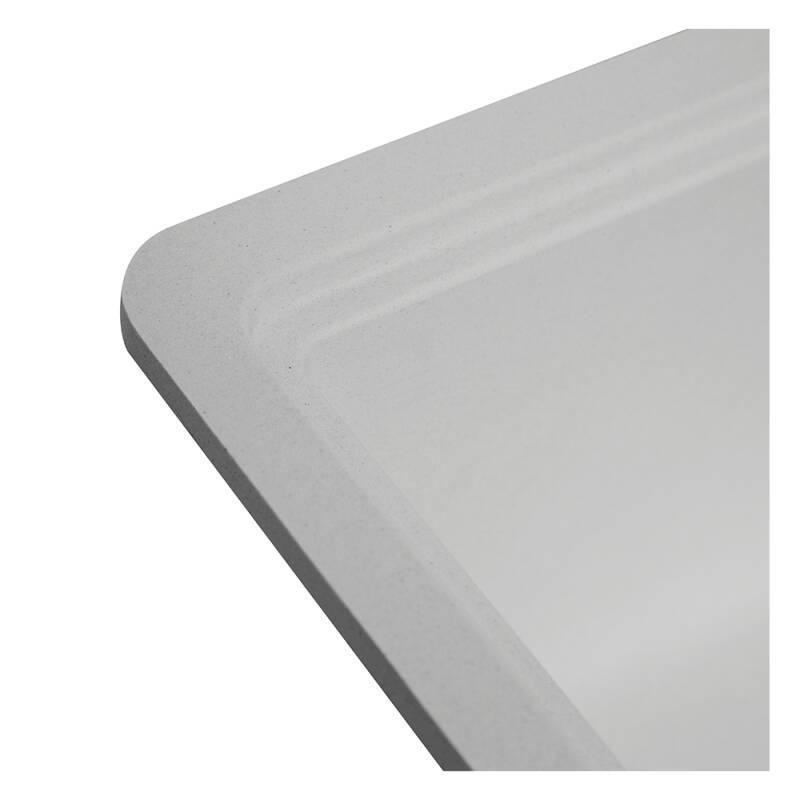 356x500 Buttermere Composite 1.0  Bowl U/mount Grey additional image 4