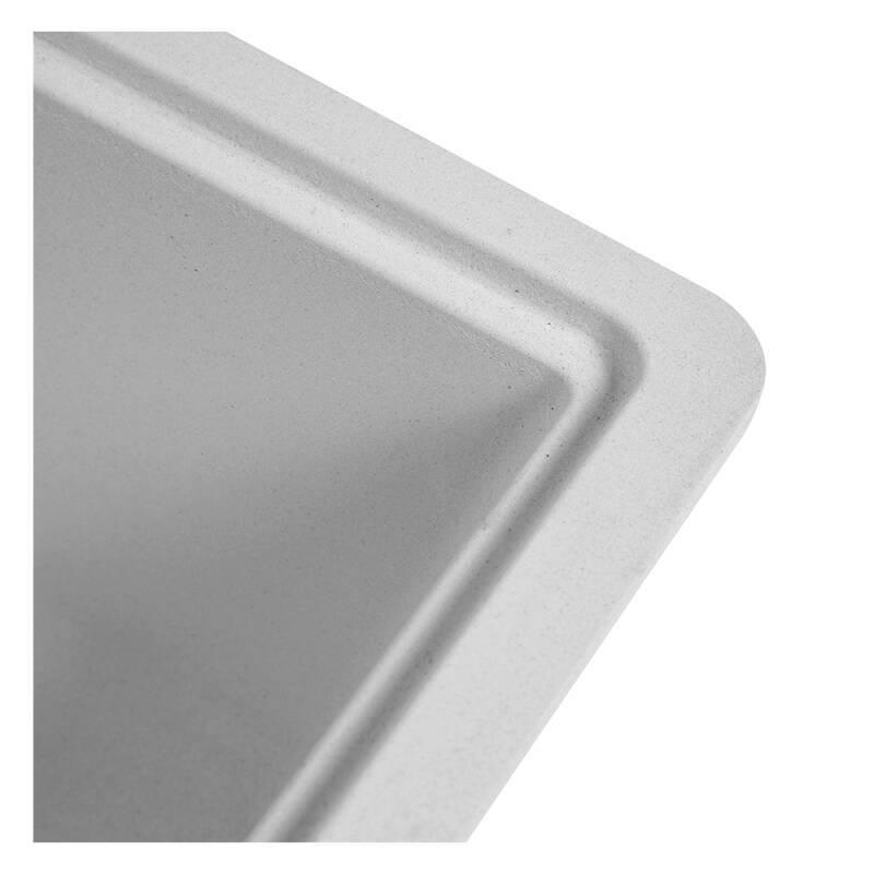 356x500 Buttermere Composite 1.0  Bowl U/mount Grey additional image 6