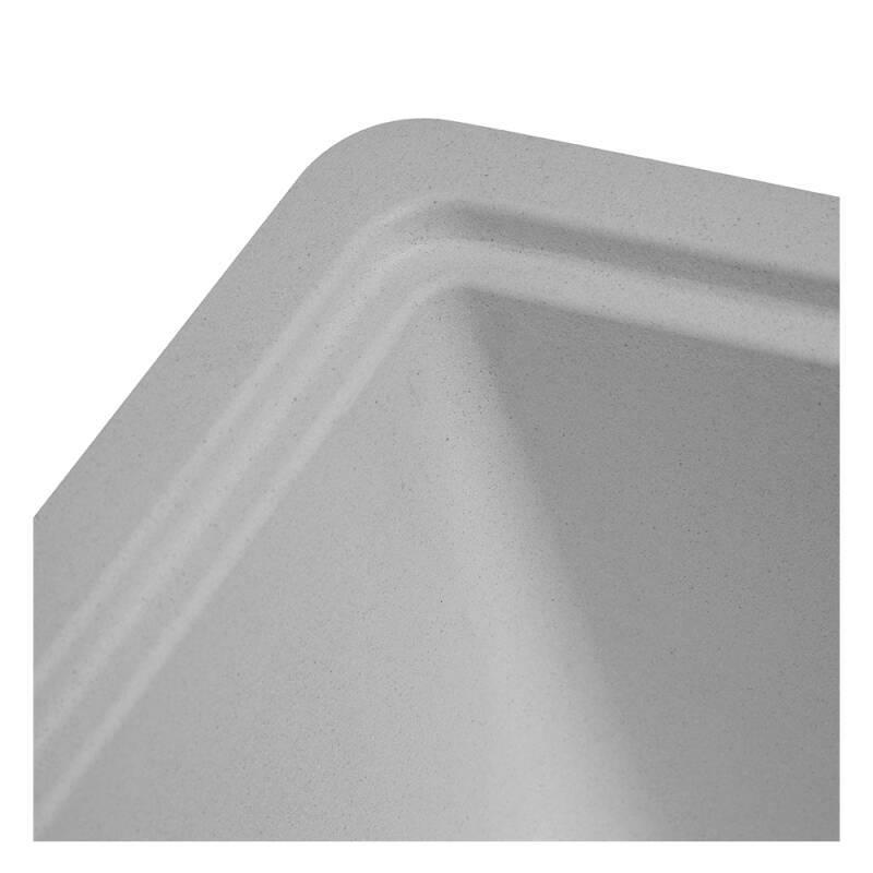 356x500 Buttermere Composite 1.0  Bowl U/mount Grey additional image 7